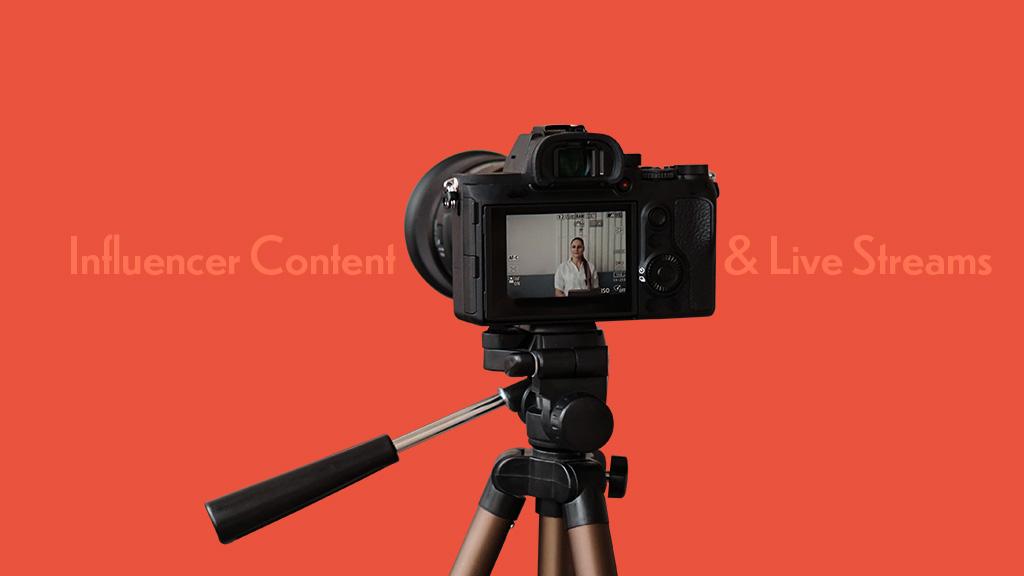 Influencer Content Live Streams